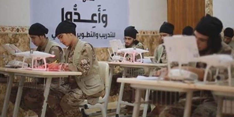 terrorist drone school